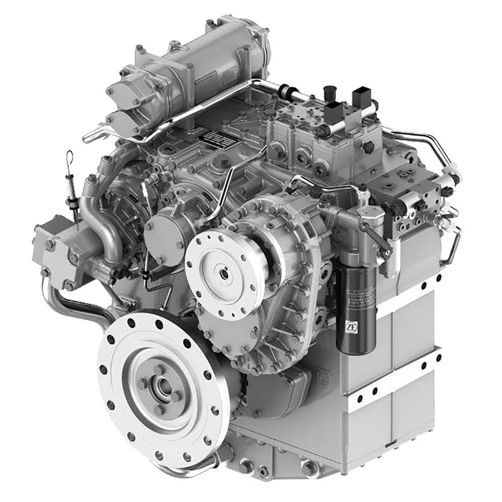 ZF 3300 Power Take In (PTI) Hybrid propulsion transmissions