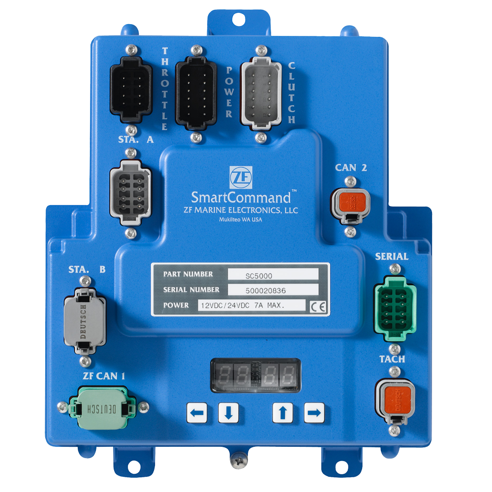 SmartCommand processor from ZF Marine Electronics
